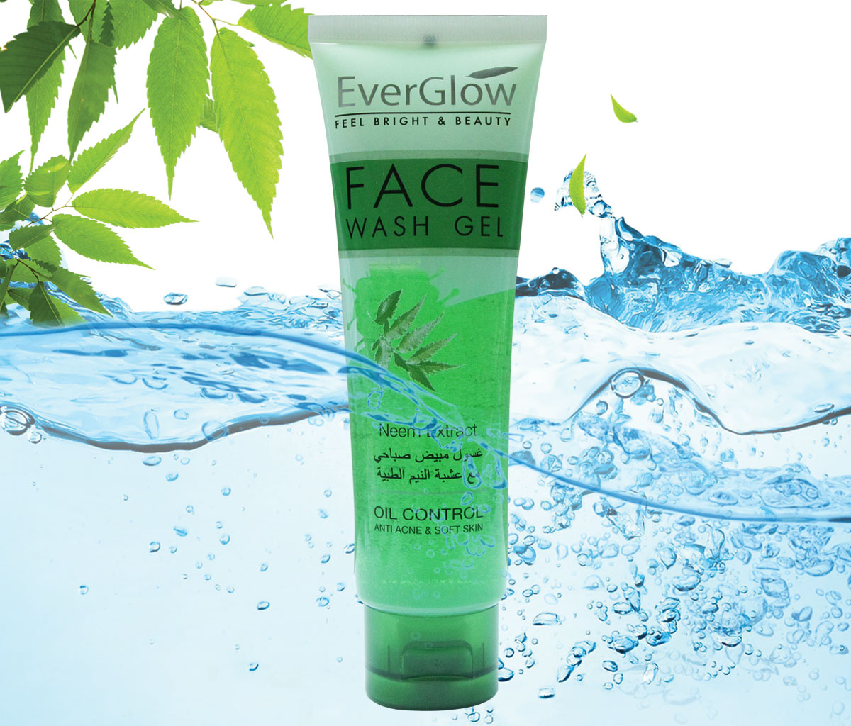 Ever Glow Neem Extract Face Wash Gel