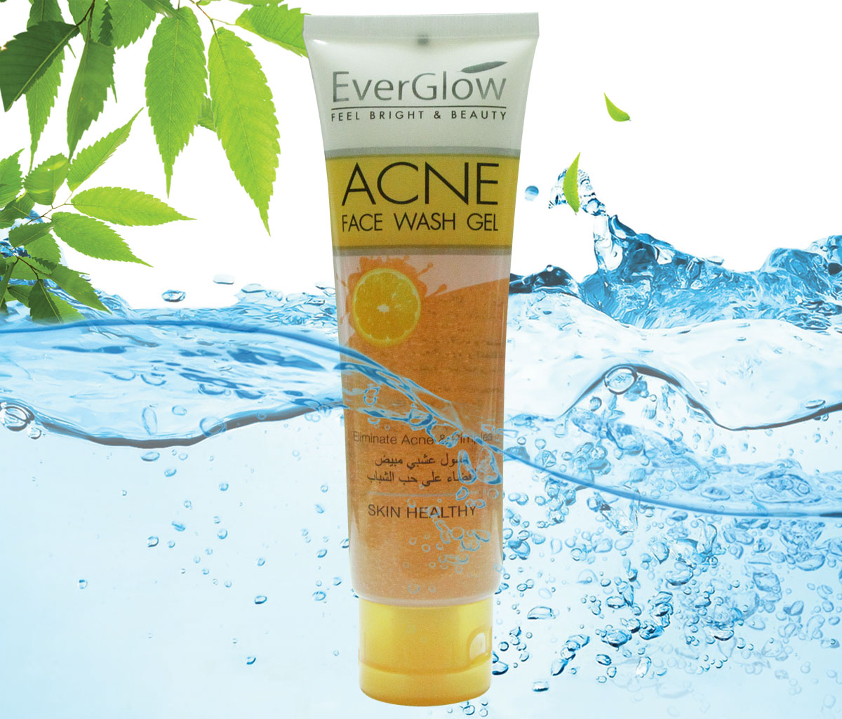 EVERGLOW ACNE FACE WASH GEL