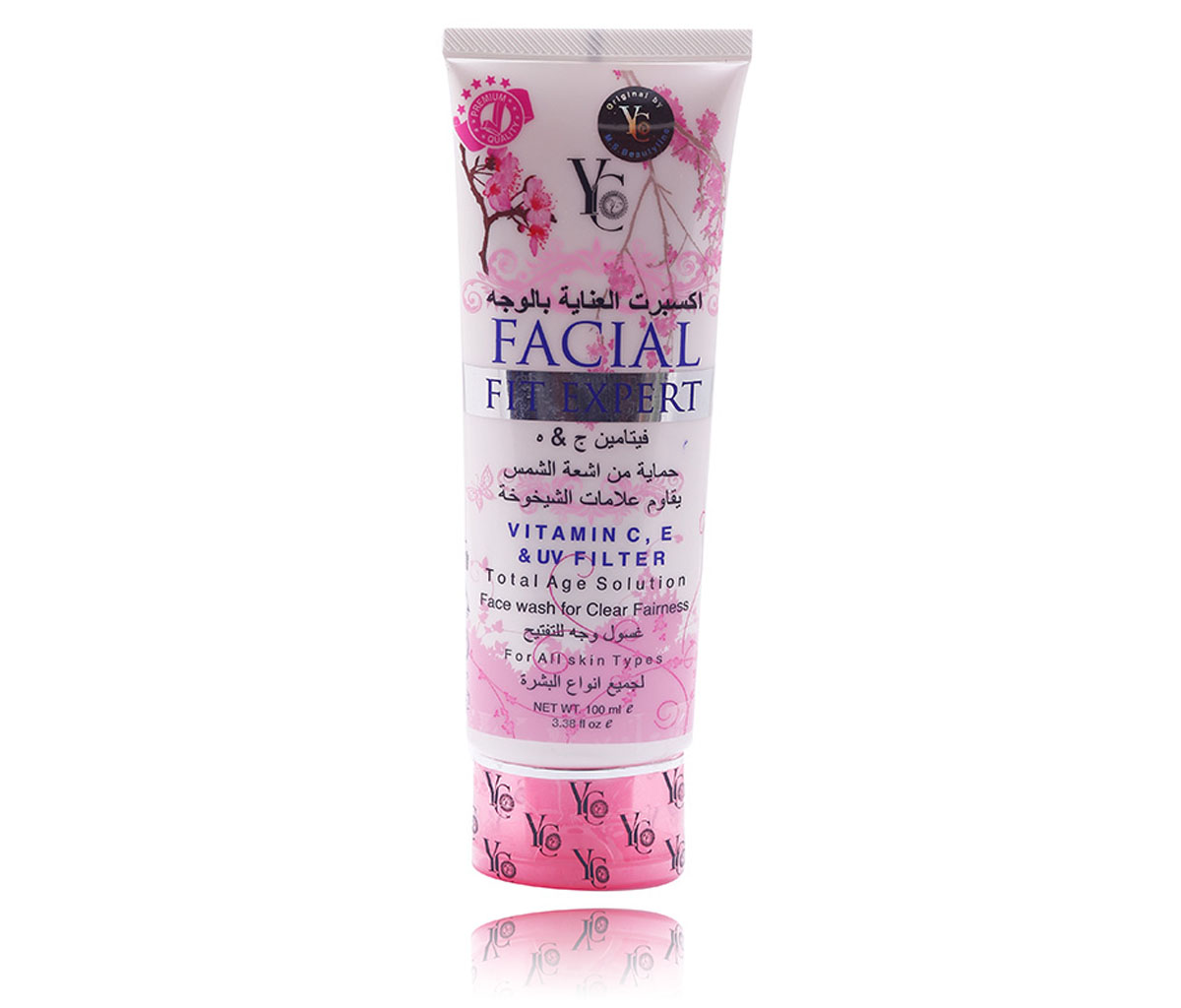 YC FACIAL FIT EXPERT FW (PINK) 100ML