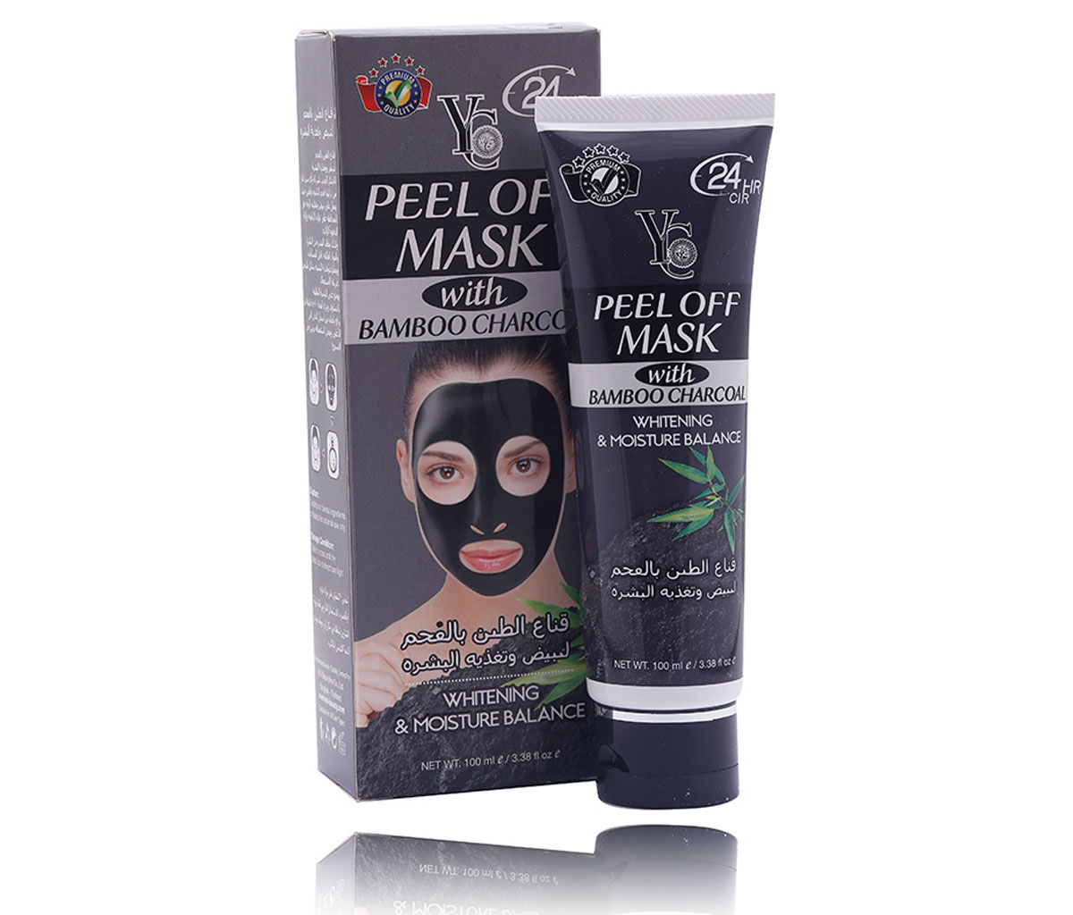 YC PEEL OFF MASK WITH BAMBOO CHARCOAL 100ML